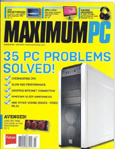 Maximum Pc Magazine (July 2013)