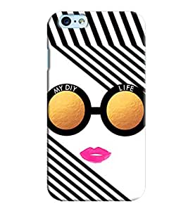 Omnam My Diy Life Written In Glass Printed Designer Back Cover Case For Apple Iphone 6 S