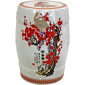 Oriental Furniture Beautiful Wedding Gift Idea, 18-Inch Cherry Blossom ...