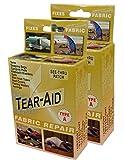 Tear-Aid Repair Type A Fabric Repair Kit (2 Pack), Gold