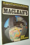 img - for Maclean's - Canada's National Magazine, September 1967 - Alan Eagleson Organizes NHL Players' Union book / textbook / text book