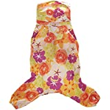Four-legged pet raincoats water-proof clothes for extra small medium dogs with legs X Small