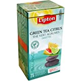 Lipton Green Tea Citrus - The Vert Agrumes - A moment to Balance - 25 tea bags