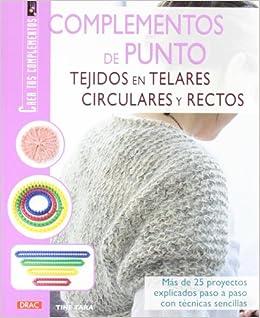 Complementos de punto tejido en telares circulares y rectos (Spanish