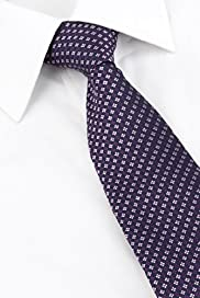 Ultimate Pure Silk Embroidered Spotted Tie