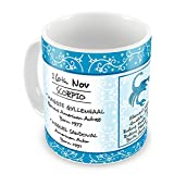 Everyday Gifts Happy Birthday 16th Nov Zodiac Mug