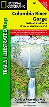 TI Map #821- Columbia River Gorge, Columbia River Gorge National Scenic Area