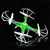 QCopter QC1 Quadcopter Drones with HD Camera LED Lights Green Drone *BONUS BATTERY 2X FlightTime*