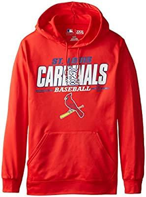 MLB St. Louis Cardinals Men's SA2 Fleece Hoodie
