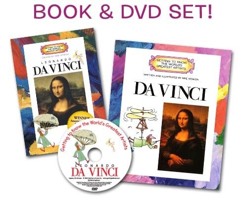 Getting To Know Leonardo Da Vinci (Artist Book & Dvd Set) (Getting To Know The Worlds Greatest Artists) front-203510