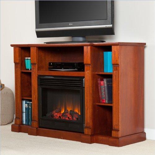 Murdock Media Electric Fireplace - Classic Mahogany image B009PRYCF8.jpg