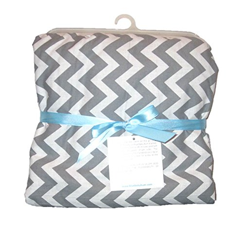 """Baby & Toddler Blanket Zig Zag (Toddler (Approx. 30"""" X 40""""), Grey) front-781001"""