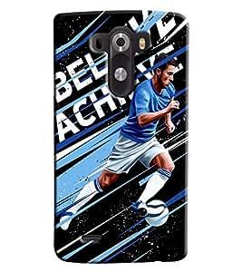 Blue Throat Beilve Achice Printed Designer Back Cover/ Case For LG G3