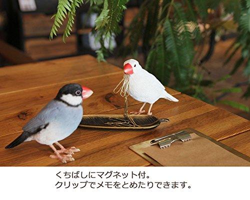 オブジェ バーディビル 桜文鳥 16.5×9.5×3.8 1684