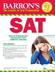 SAT, 26th edition (Barron's Sat (Book Only))