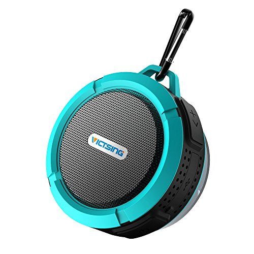victsing-shower-speaker-wireless-waterproof-speaker-with-5w-drive-suction-cup-buit-in-mic