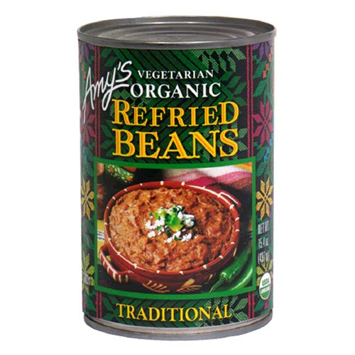 Amy's Organic Refried Beans, 15.4-Ounce Cans (Pack of 12)