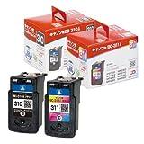 再生インク キャノン BC-310/311 2色set CANON PIXUS MP493/MP490/MP480/MP280/MP270/iP2700 対応インク【純正互換】