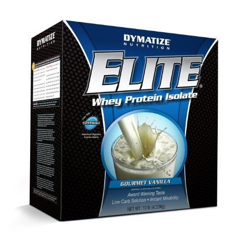Dymatize Elite Whey Isolate Protein Gourmet Vanilla 10lb