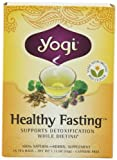 Yogi Healthy Fasting, Herbal Tea Supplement, 16-Count Tea Bags (Pack of 6)