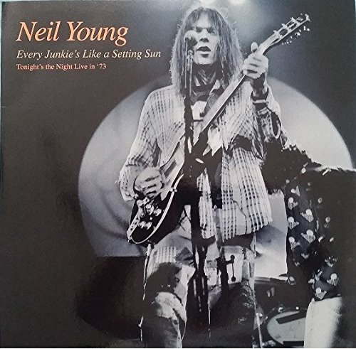 Neil Young Tonights the Night CD Covers