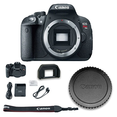 Canon T5i DSLR Camera (Body Only - No Lenses) + All Original Accessories Included - International Version (Filming Accesories compare prices)