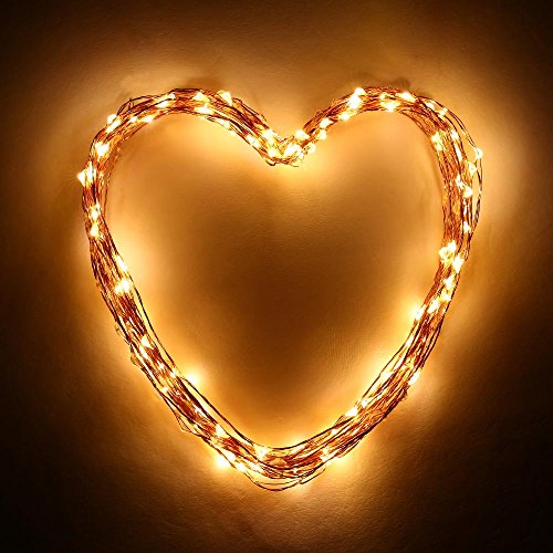 String Lights Qatar : [Upgraded 120LEDs string lights]LuckLED Starry String Lights, 20ft Fairy Copper Wire Rope Lights ...