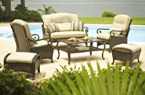 Big Sale Lake Como 6-piece Deep Seating Set by La-Z-Boy Outdoor