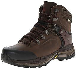 Merrell Women\'s Crestbound Gore-Tex Hiking Boot, Clay, 9 M US