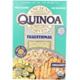 Ancient Harvest Organic Quinoa, Traditional, 12-Ounce Boxes (Pack of 12) ~ Ancient Harvest