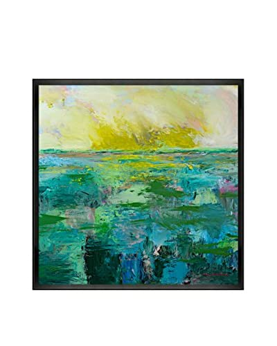 "Allan P Friedlander ""Morning Dew"" Framed Print on Canvas"