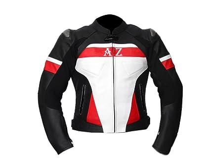 Nouveau Style Veste de moto en cuir de vache doux pour homme/femme
