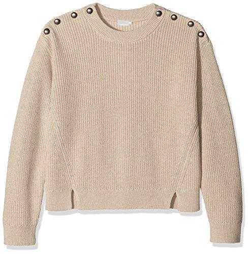 filippa-k-button-rib-pullover-pull-femme-beige-beige-dove-mel-40