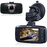 "KEHAN KH821 Full HD 1920*1080 Car DVR Dash Cam Dashboard 170 Degree Super Wide Diagonal Viewing Angle 2.7"" LCD Screen Ambarella A7 OV4689 with G-Sensor HDR Nightvision Motion Detection 6-Glass Lens+ 32GB Memory Card"