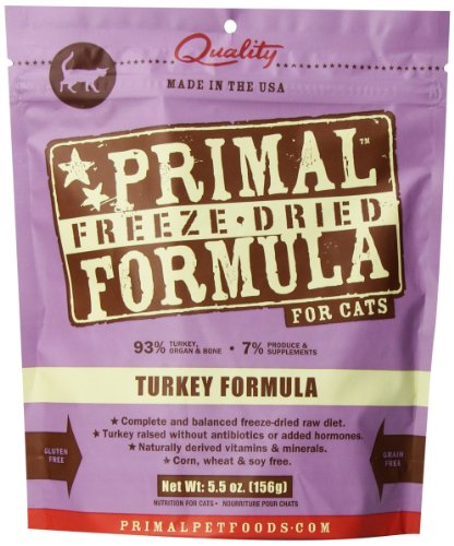 Primal Freeze Dried Turkey Formula For Cats 5Oz