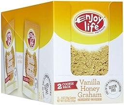 Enjoy Life Vanilla Honey Graham Crunchy Cookie, 0.9 oz, 24 ct