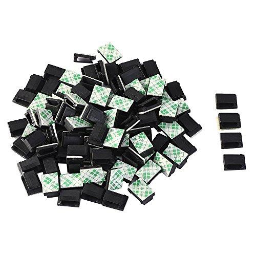 eboot-100pz-clip-filo-adesivo-fermacavi-autoadesivo-fascette-supporto-di-cavo-organizzatore-morsetto