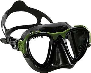 Cressi Sub S.p.A. Occhio Plus Masque apnée Noir/Vert