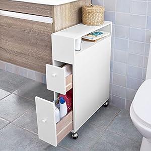 Sobuy estanteria para nichos gabinete de almacenamiento for Estanteria sobre wc