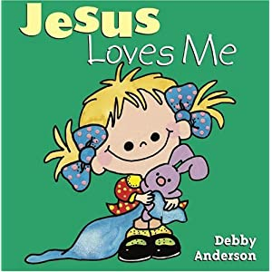 Amazon.com: Jesus Loves Me (Cuddle and Sing Board Book) (9780781430753): Debby Anderson: Books