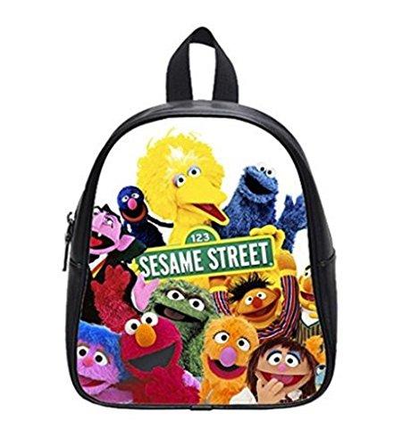 LilyFavor Sesame Street Custom Kids Zaino School Borsa(Small)