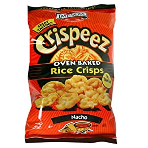 Amazon.com: Tastemorr Crispeez Oven Baked Rice Crisps