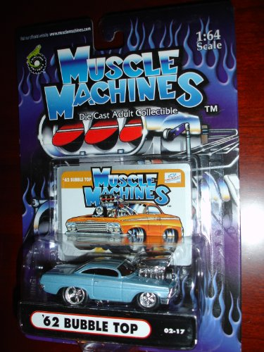 Muscle Machines 62 Bubble Top Powder Blue