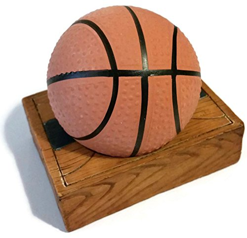 Basketball Squishy : Basketball Stress Ball with Mini Full Court Holder Arts Entertainment Hobbies Creative Arts ...