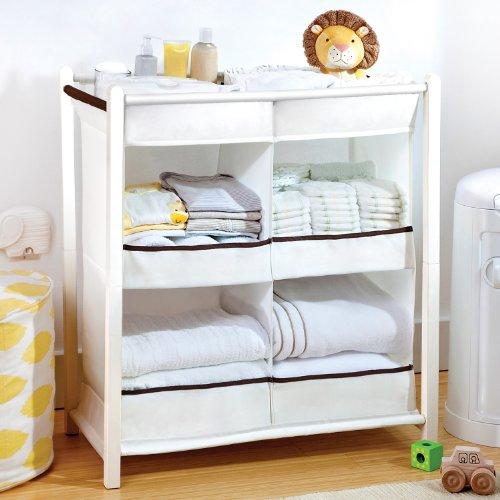 Nursery Essentials Diaper Organizer Storage Baby Newborn ...