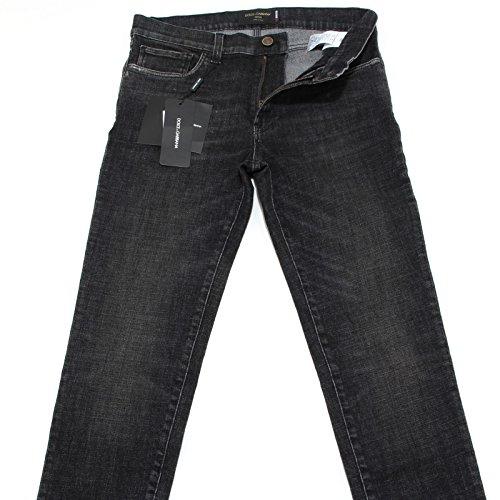 3154L jeans uomo neri DOLCE&GABBANA D&G 16 stretch pantaloni pants men [46]