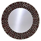 The Decor Mart Multi Colour Resin Mirror - 12 X 12 Inch