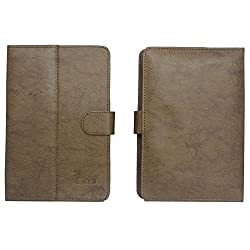 BRAIN FREEZER G3 TIACHI FLIP FLAP CASE COVER POUCH CARRY STAND FOR HCLME V2GLIGHT BROWN