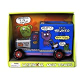 Novelty Ugly Trucks Pen & Pencil Holder Tin Tub - Trunko's Pencil Pusher