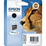 Epson C13T07114011 - T0711 - Black - original - blister - ink cartridge - for Stylus DX9400, SX115, SX210, SX215, SX218, SX415, SX515, SX610, Stylus Office BX310, BX610